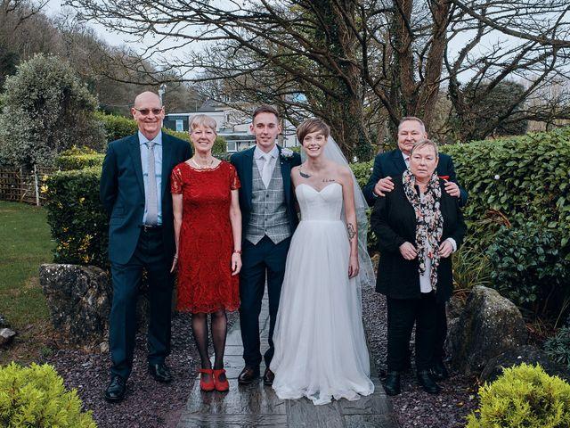 Geraint and Chloe's Wedding in Oxwich, Swansea 8