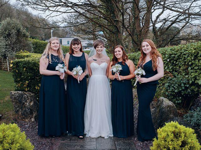 Geraint and Chloe's Wedding in Oxwich, Swansea 9