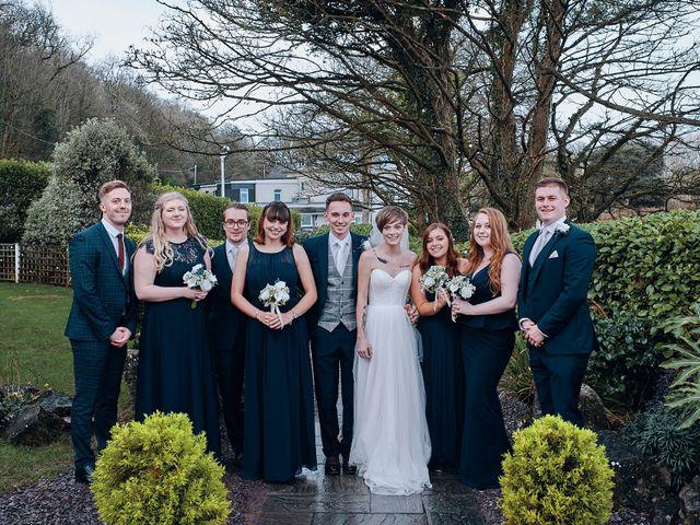 Geraint and Chloe's Wedding in Oxwich, Swansea 10