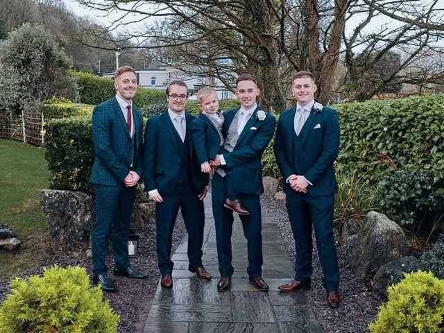 Geraint and Chloe's Wedding in Oxwich, Swansea 11