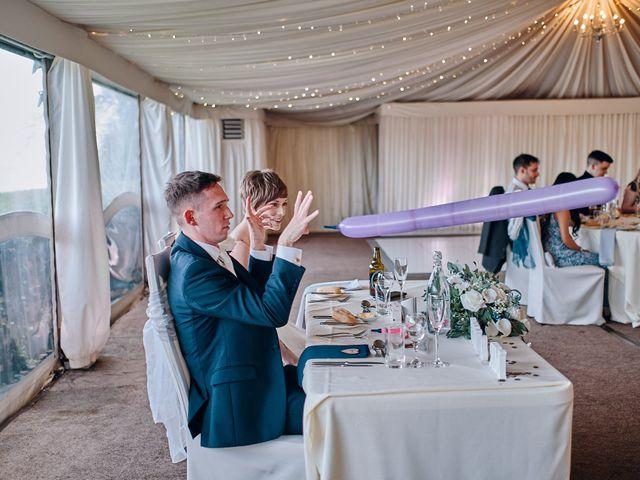 Geraint and Chloe's Wedding in Oxwich, Swansea 13