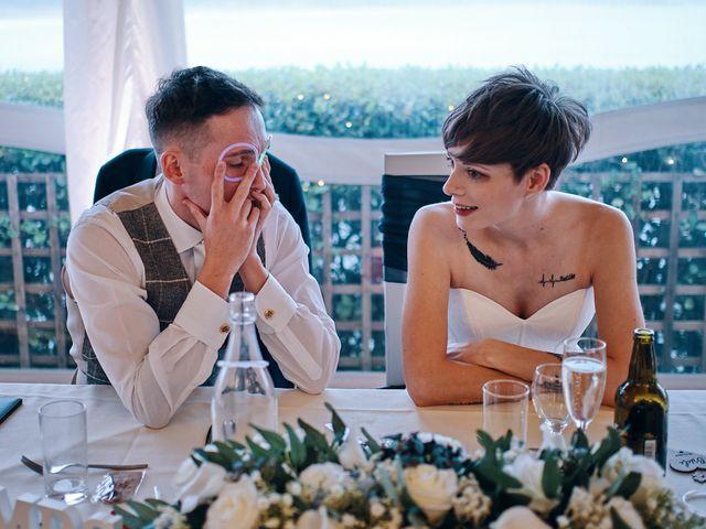 Geraint and Chloe's Wedding in Oxwich, Swansea 16