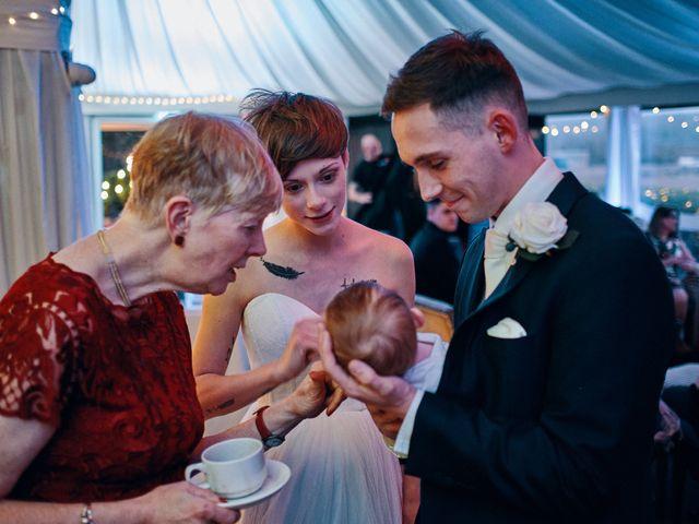 Geraint and Chloe's Wedding in Oxwich, Swansea 17