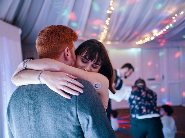 Geraint and Chloe's Wedding in Oxwich, Swansea 25