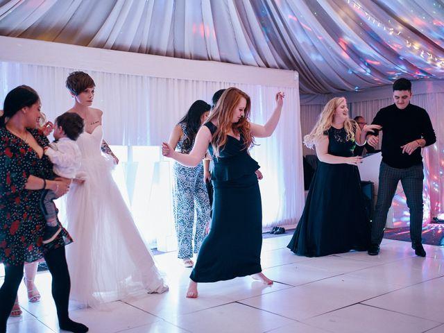 Geraint and Chloe's Wedding in Oxwich, Swansea 27