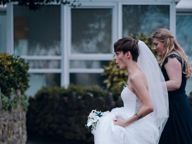 Geraint and Chloe's Wedding in Oxwich, Swansea 32