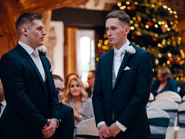 Geraint and Chloe's Wedding in Oxwich, Swansea 33