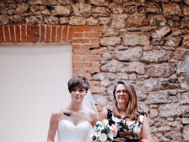 Geraint and Chloe's Wedding in Oxwich, Swansea 34