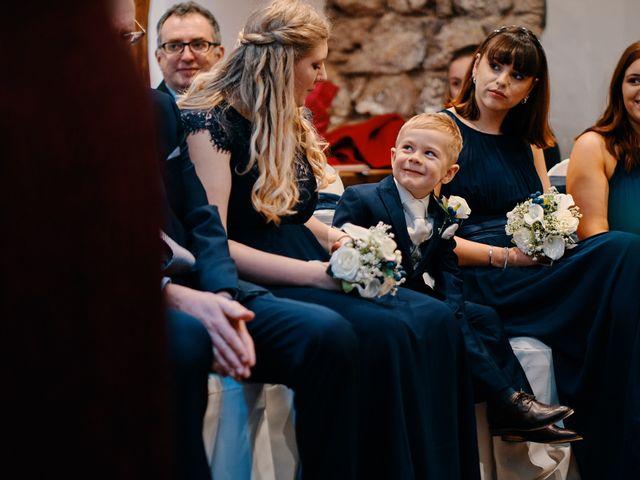 Geraint and Chloe's Wedding in Oxwich, Swansea 35