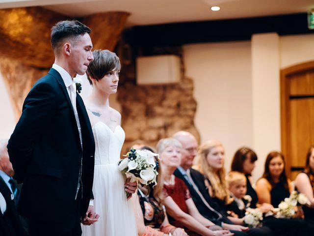 Geraint and Chloe's Wedding in Oxwich, Swansea 36
