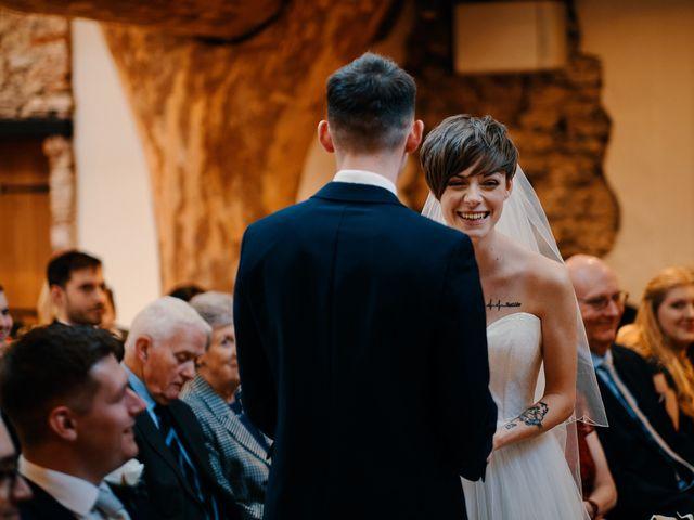 Geraint and Chloe's Wedding in Oxwich, Swansea 37