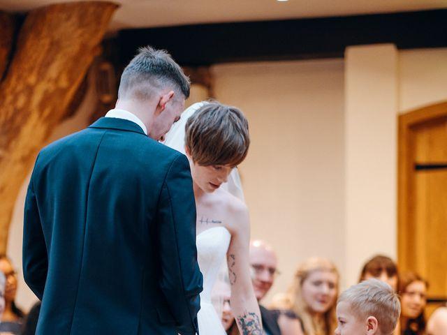 Geraint and Chloe's Wedding in Oxwich, Swansea 38