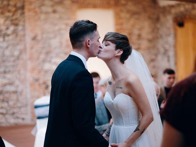 Geraint and Chloe's Wedding in Oxwich, Swansea 39