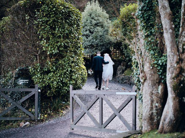 Geraint and Chloe's Wedding in Oxwich, Swansea 41
