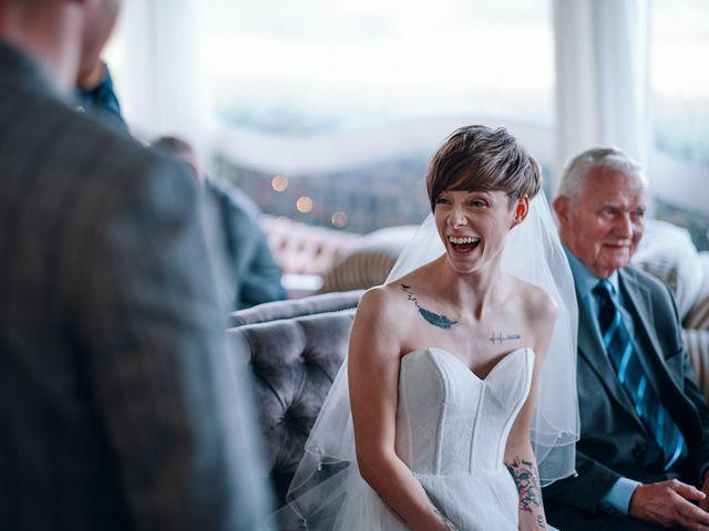 Geraint and Chloe's Wedding in Oxwich, Swansea 44