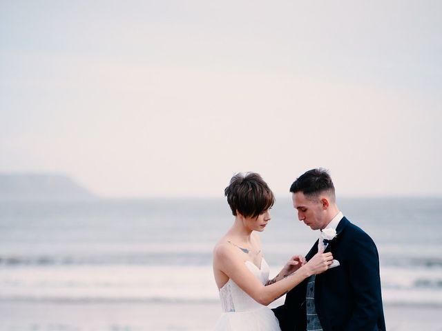Geraint and Chloe's Wedding in Oxwich, Swansea 46