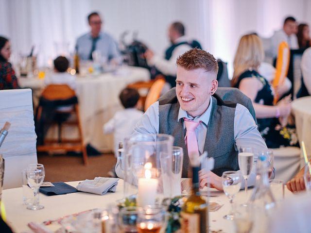 Geraint and Chloe's Wedding in Oxwich, Swansea 53
