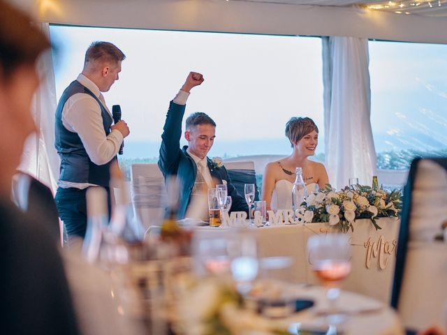 Geraint and Chloe's Wedding in Oxwich, Swansea 54