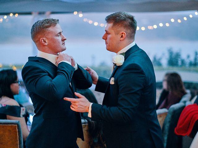 Geraint and Chloe's Wedding in Oxwich, Swansea 55