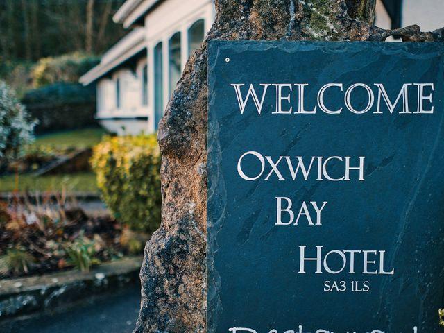 Geraint and Chloe's Wedding in Oxwich, Swansea 63