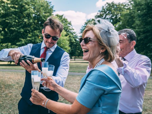 JAMES and LAURA's Wedding in London - West, West London 15