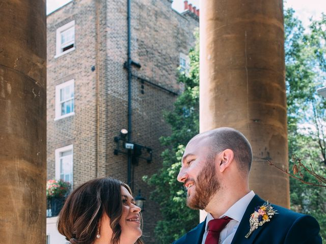 JAMES and LAURA's Wedding in London - West, West London 36