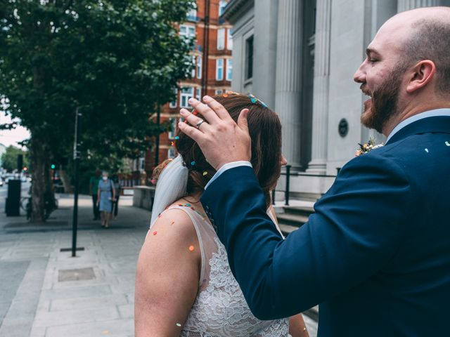 JAMES and LAURA's Wedding in London - West, West London 43