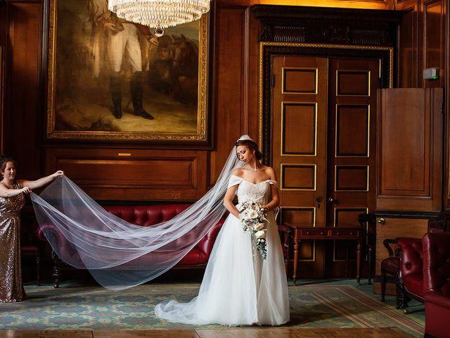 Toby & Stephanie's wedding