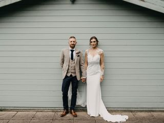 Zoe & John's wedding
