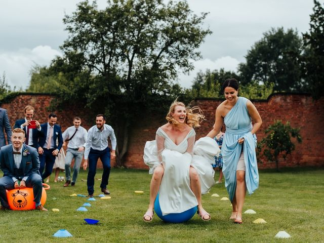 Steve and Lizzie's Wedding in Notts, Nottinghamshire 1