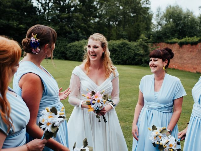 Steve and Lizzie's Wedding in Notts, Nottinghamshire 11