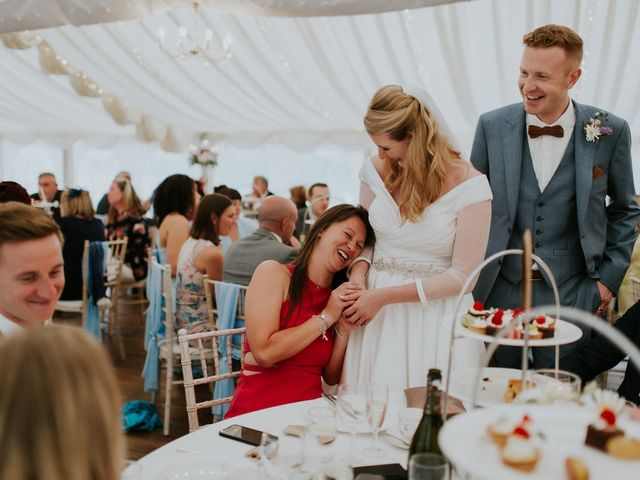 Steve and Lizzie's Wedding in Notts, Nottinghamshire 14
