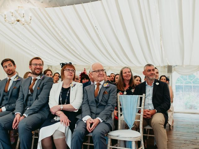 Steve and Lizzie's Wedding in Notts, Nottinghamshire 18