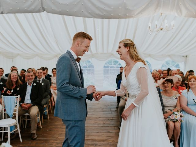 Steve and Lizzie's Wedding in Notts, Nottinghamshire 19