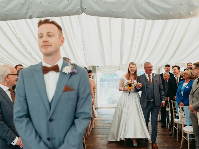 Steve and Lizzie's Wedding in Notts, Nottinghamshire 20