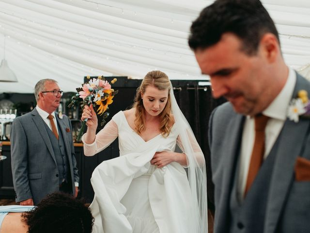 Steve and Lizzie's Wedding in Notts, Nottinghamshire 22