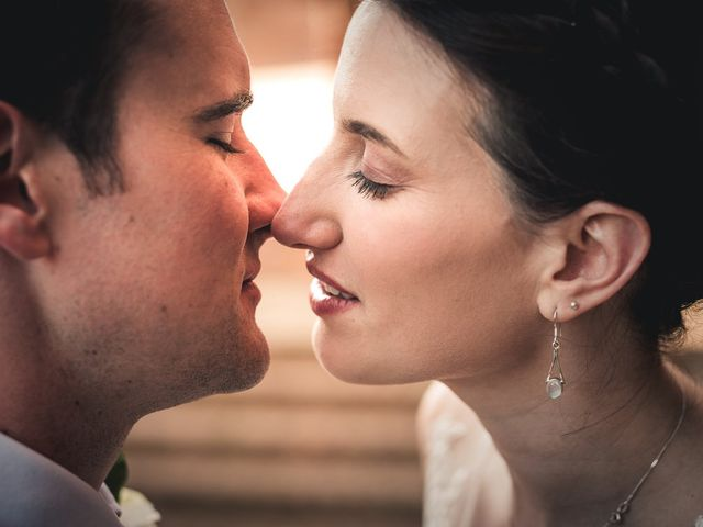Tiffany & Ross's wedding