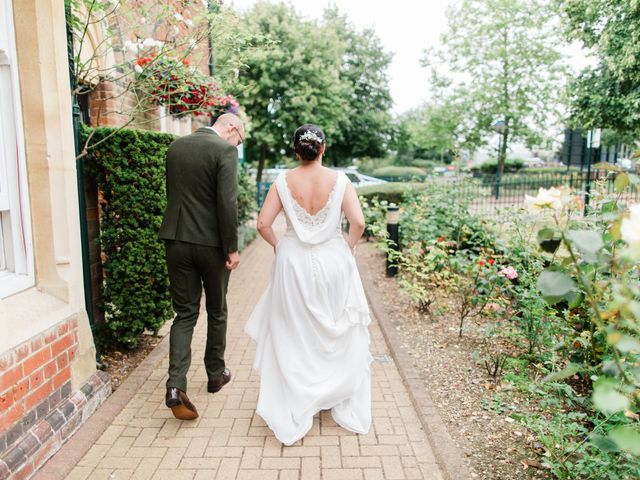 Lee and Anabel's Wedding in St Albans, Hertfordshire 6