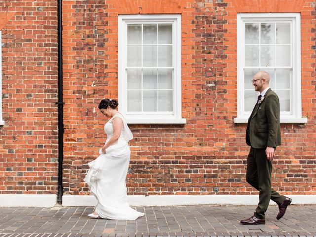 Lee and Anabel's Wedding in St Albans, Hertfordshire 14