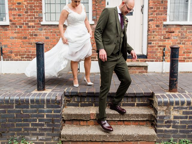 Lee and Anabel's Wedding in St Albans, Hertfordshire 15