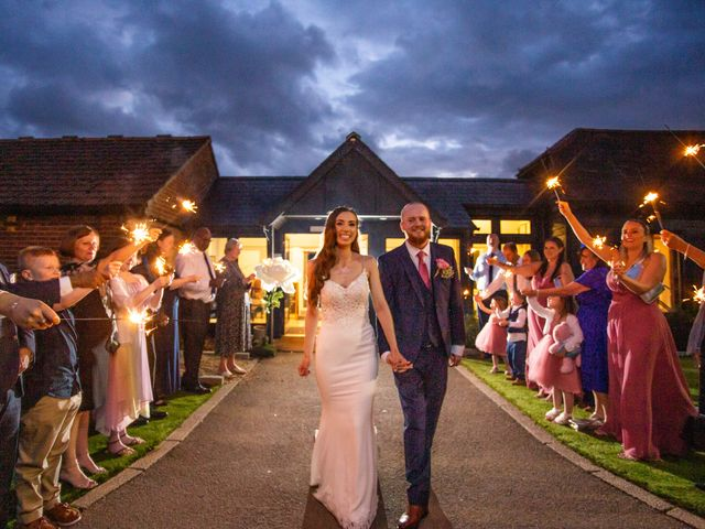 Kendall and Rob's Wedding in Little Waltham, Essex 10