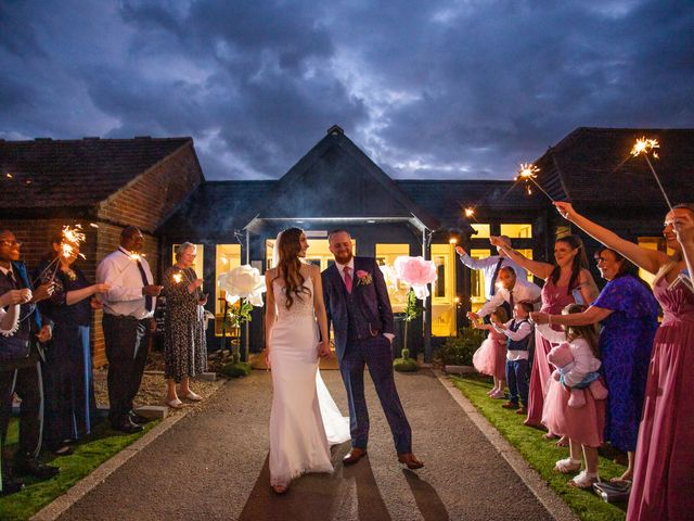 Kendall and Rob's Wedding in Little Waltham, Essex 12