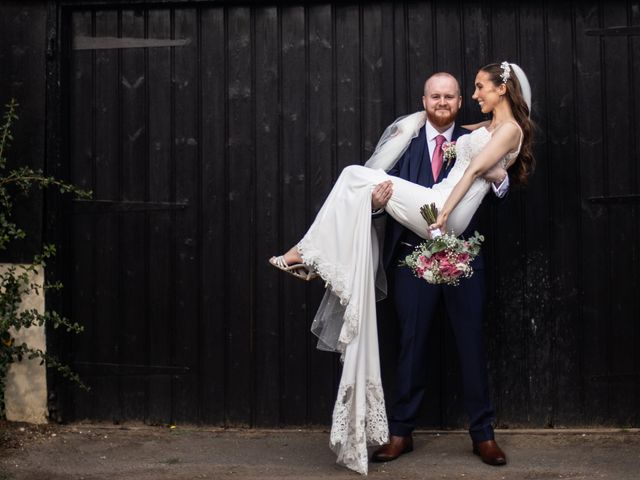 Kendall and Rob's Wedding in Little Waltham, Essex 17