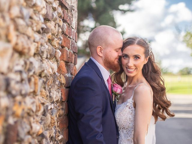 Kendall and Rob's Wedding in Little Waltham, Essex 21
