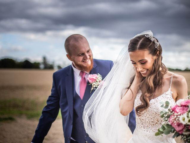 Kendall and Rob's Wedding in Little Waltham, Essex 29
