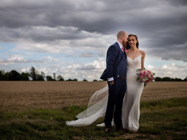 Kendall and Rob's Wedding in Little Waltham, Essex 31