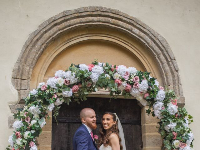 Kendall and Rob's Wedding in Little Waltham, Essex 32