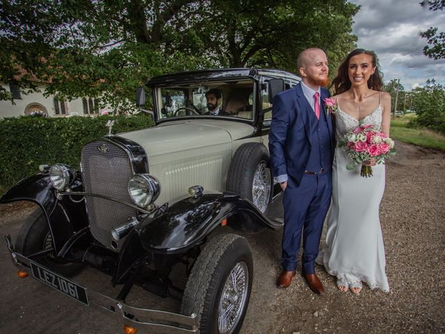 Kendall and Rob's Wedding in Little Waltham, Essex 33