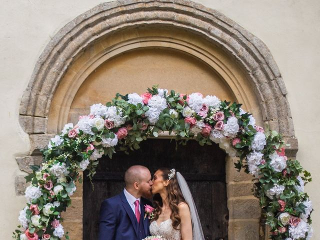 Kendall and Rob's Wedding in Little Waltham, Essex 34
