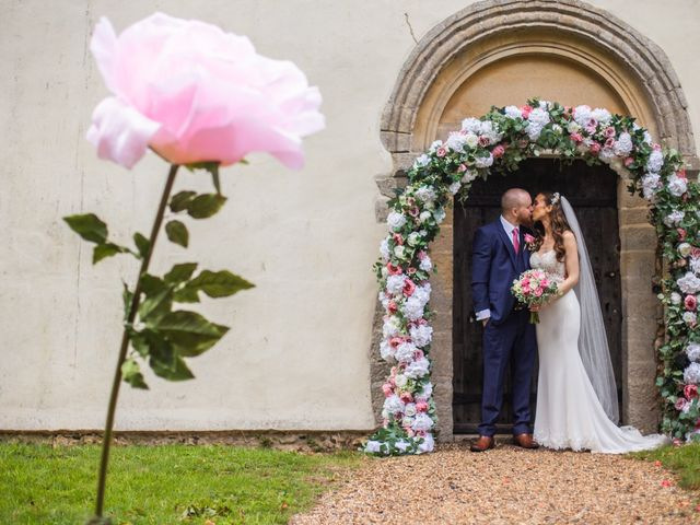 Kendall and Rob's Wedding in Little Waltham, Essex 35